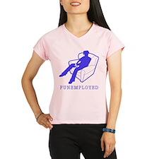 Funemployed Women's double dry short sleeve mesh s