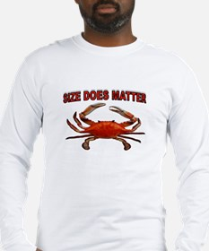 BIGGER THE BETTER Long Sleeve T-Shirt