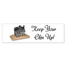 Keep Your Chin Up Car Sticker