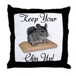 Keep Your Chin Up Throw Pillow