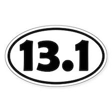 13.1 Half Marathon Decal