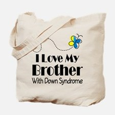 Down Syndrome Brother Tote Bag