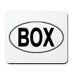 (BOX) Euro Oval Mousepad