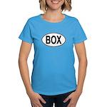 (BOX) Euro Oval Women's Dark T-Shirt