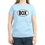 (BOX) Euro Oval Women's Light T-Shirt