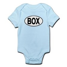 (BOX) Euro Oval Infant Bodysuit
