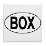(BOX) Euro Oval Tile Coaster