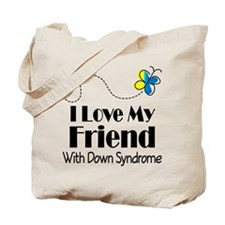 Down Syndrome Friend Tote Bag