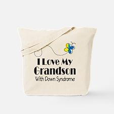 Down Syndrome Grandson Tote Bag
