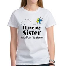 Down Syndrome Sister Tee