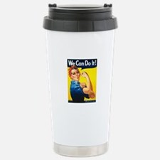 Rosie The Riveter Travel Mug