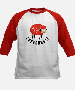 Expendable Sheep Kids Baseball Jersey