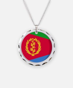Cool Eritrean flag designs Necklace