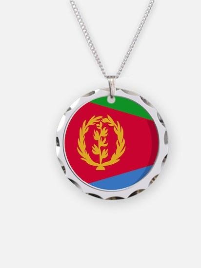 Cool Eritrean flag designs Necklace