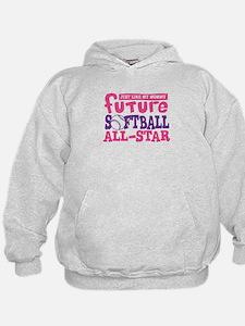 Future Softball All Star Girl Hoodie