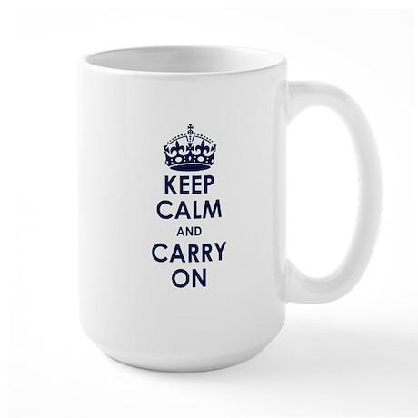 Crown Large Mug