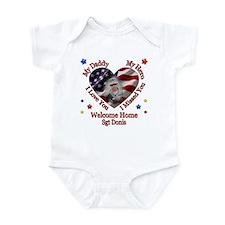Araceli's Custom Homecoming Infant Bodysuit
