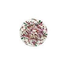 Metalic Swirl Mini Button