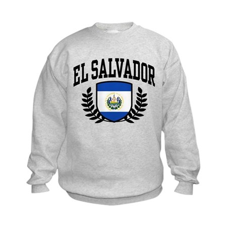 El Salvador Kids Sweatshirt