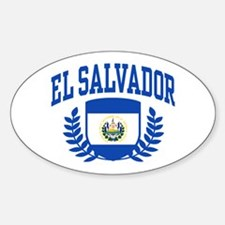 El Salvador Sticker (Oval)