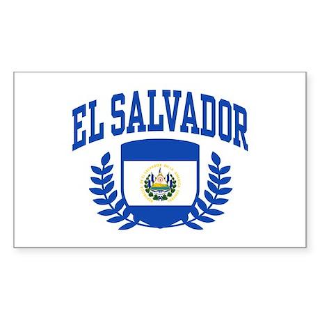 El Salvador Sticker (Rectangle)