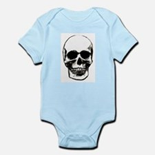 Male Skull Infant Creeper