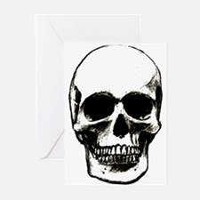 Male Skull Greeting Cards (Pk of 10)