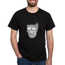 Female Skull Black T-Shirt