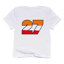 CSAUSTFLAG27back Infant T-Shirt