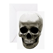 Female Skull Greeting Cards (Pk of 10)