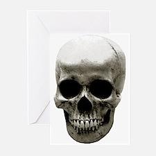 Female Skull Greeting Cards (Pk of 10)