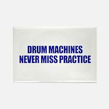 Drum Machines Rectangle Magnet