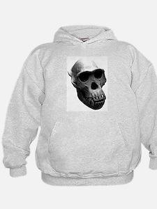 Chimpanzee Skull Hoodie