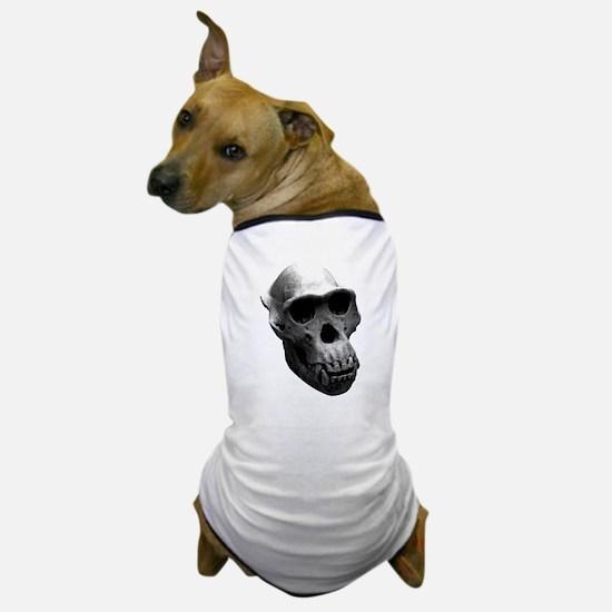 Chimpanzee Skull Dog T-Shirt