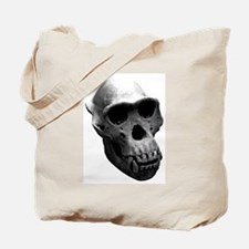 Chimpanzee Skull Tote Bag