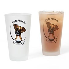 Funny Boxer Pint Glass