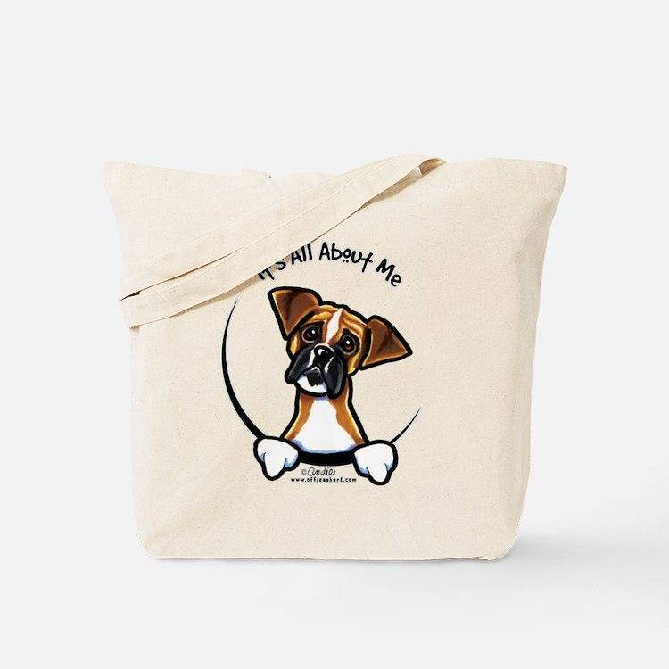 Funny Boxer Tote Bag