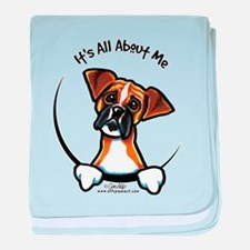 Funny Boxer baby blanket