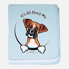 Funny Boxer baby blanket