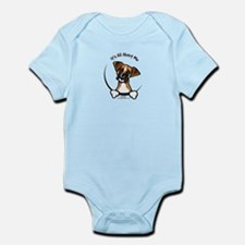 Funny Boxer Infant Bodysuit