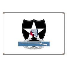 2nd Infantry CIB Banner