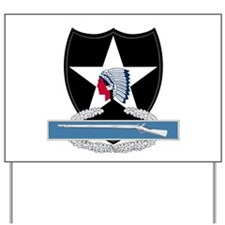 2nd Infantry CIB Yard Sign