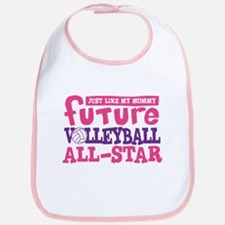 Future All Star Volleyball Girl Bib