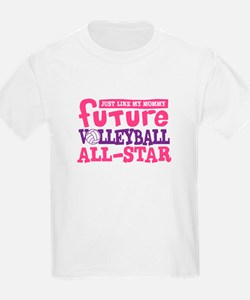 Future All Star Volleyball Girl T-Shirt