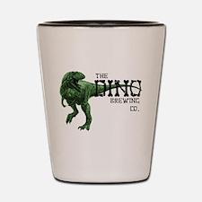 Dino Brewing Company Shot Glass