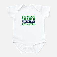 Future All Star Volleyball Boy Infant Bodysuit