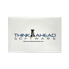 Think Ahead Software Rectangle Magnet