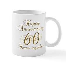 Stylish 60th Anniversary Mug