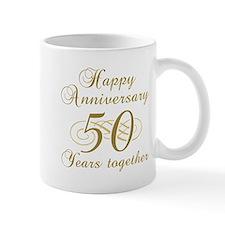Stylish 50th Anniversary Mug