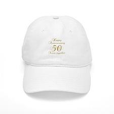 Stylish 50th Anniversary Baseball Cap